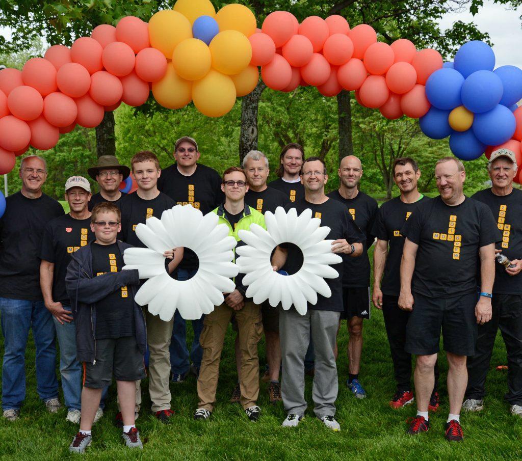 MD5K 15 volunteers